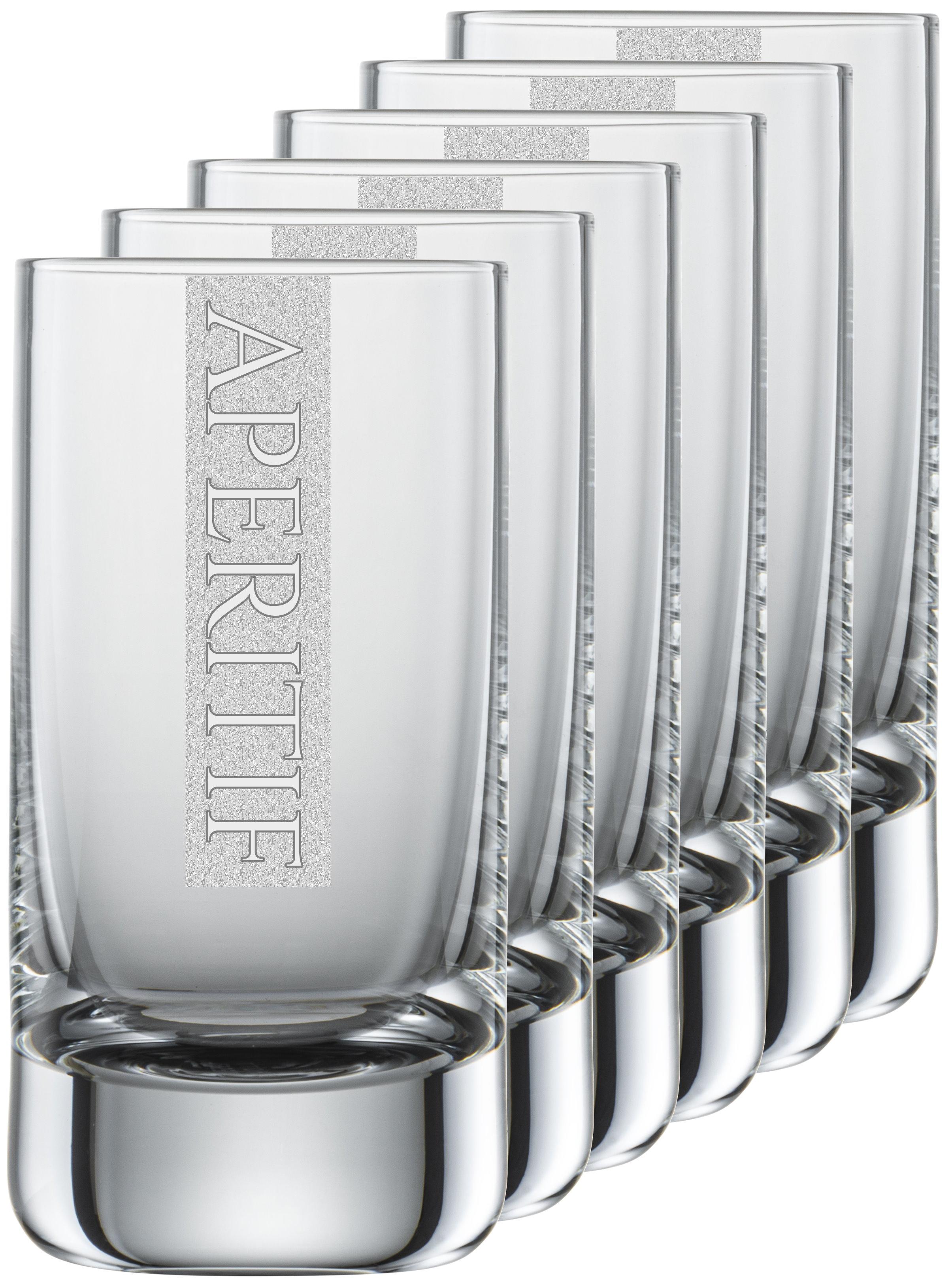 APERITIF Gläser   6 Stück 5cl Schott Schnapsglas   CoolGlas