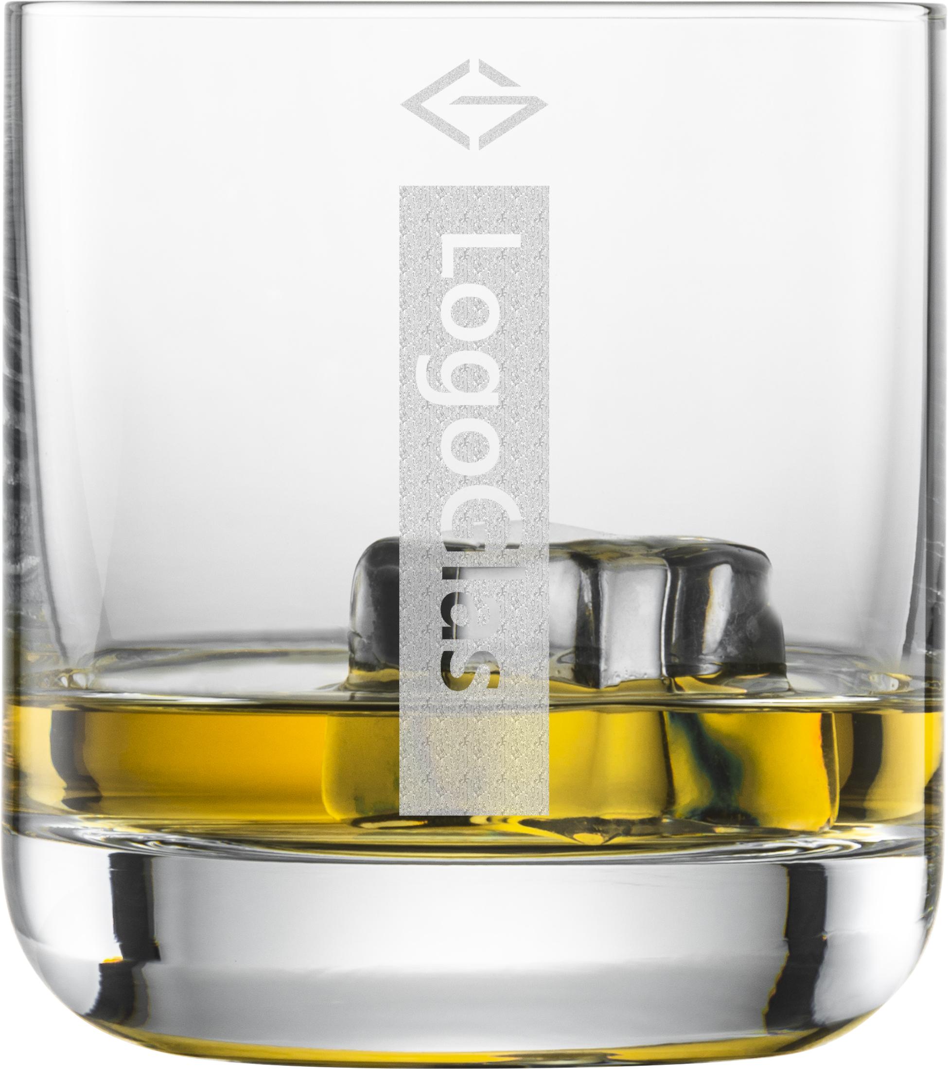 LOGO Whiskyglas / Tumbler 300ml | Schott Convention 60 |  mit Logo Gravur