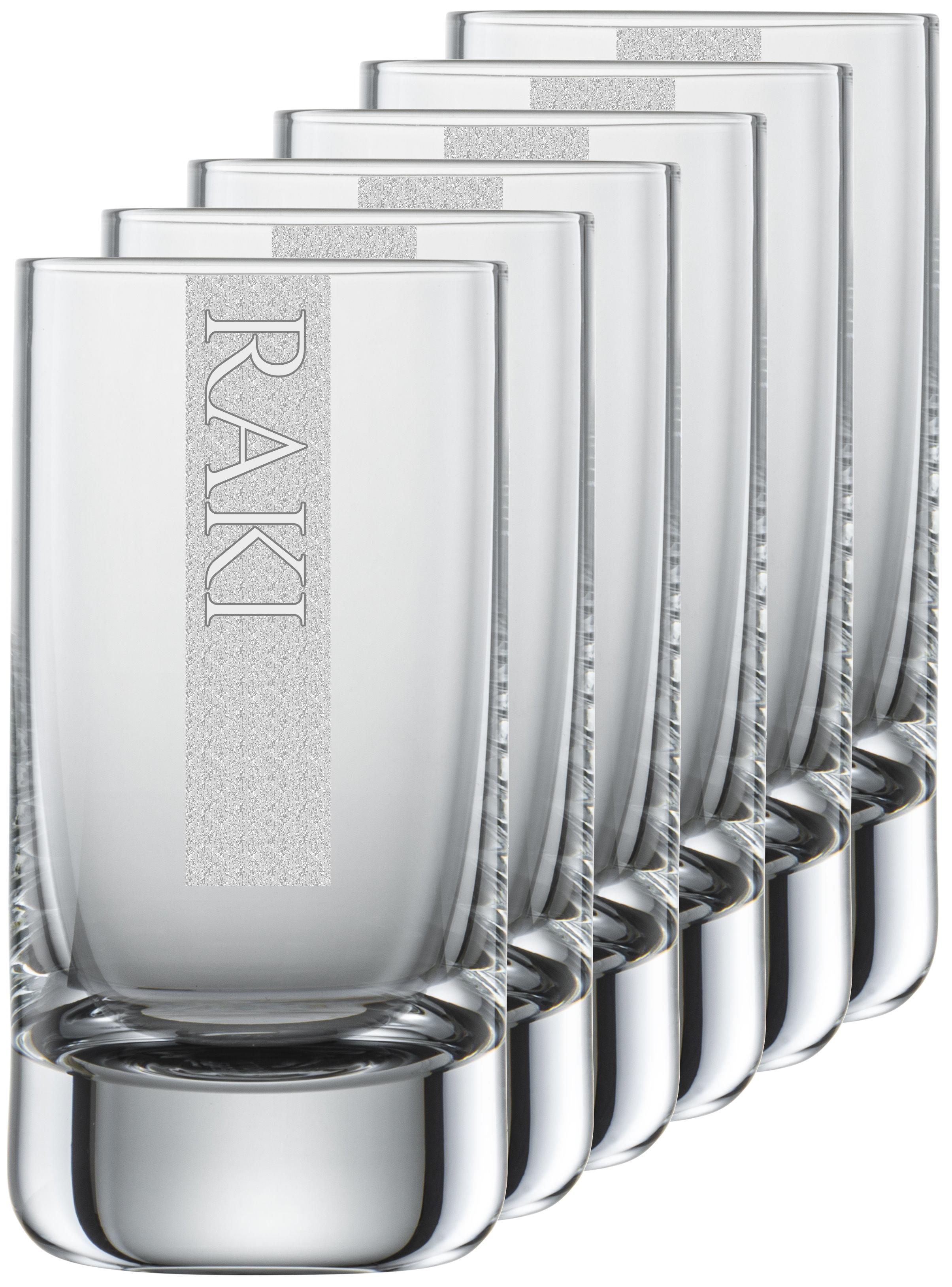 RAKI Gläser   6 Stück 5cl Schott Schnapsglas   CoolGlas