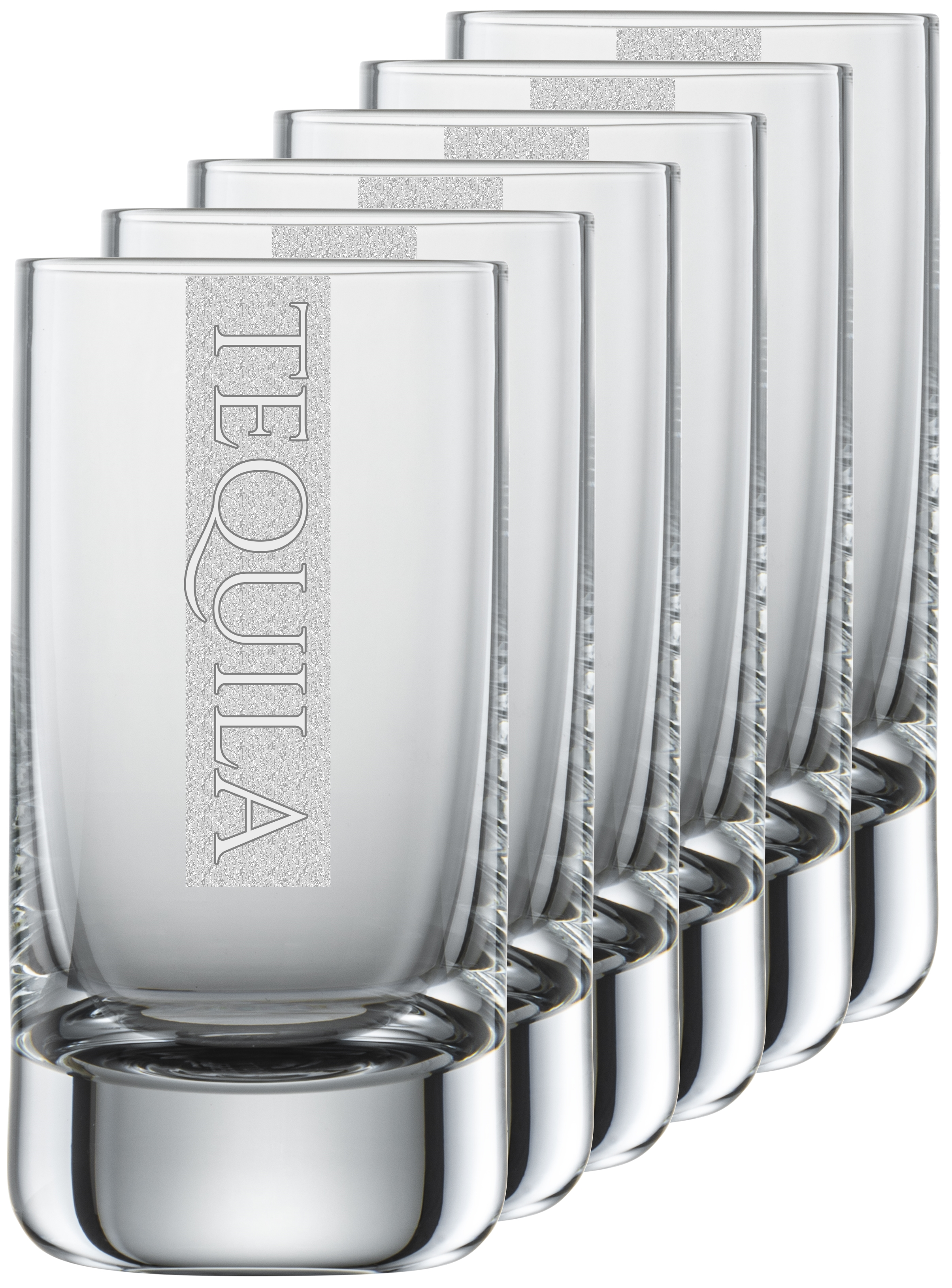 TEQUILA Gläser   6 Stück 5cl Schott Schnapsglas   CoolGlas