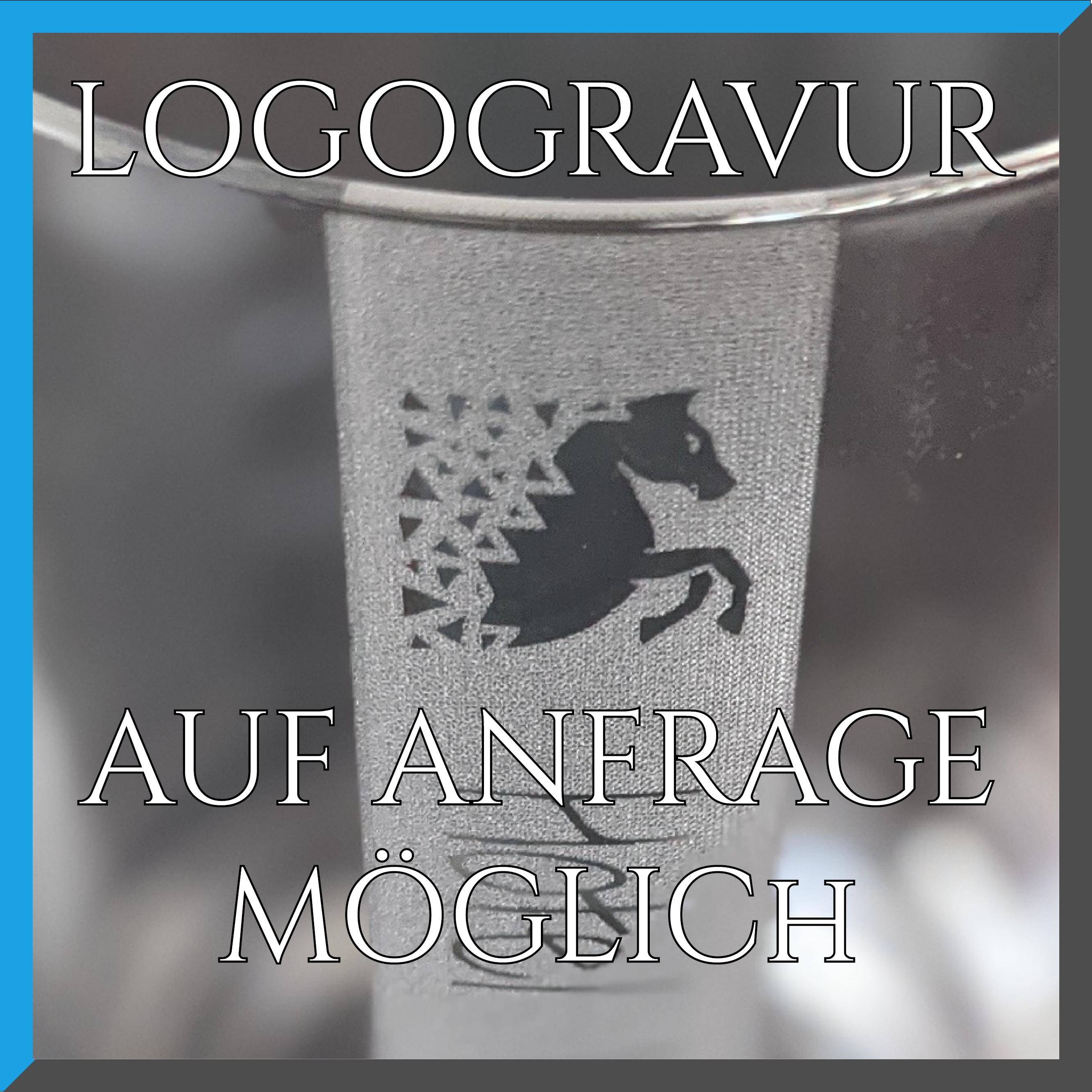WASSER Gläser | 6 Stück 390ml Schott Trinkglas | CoolGlas