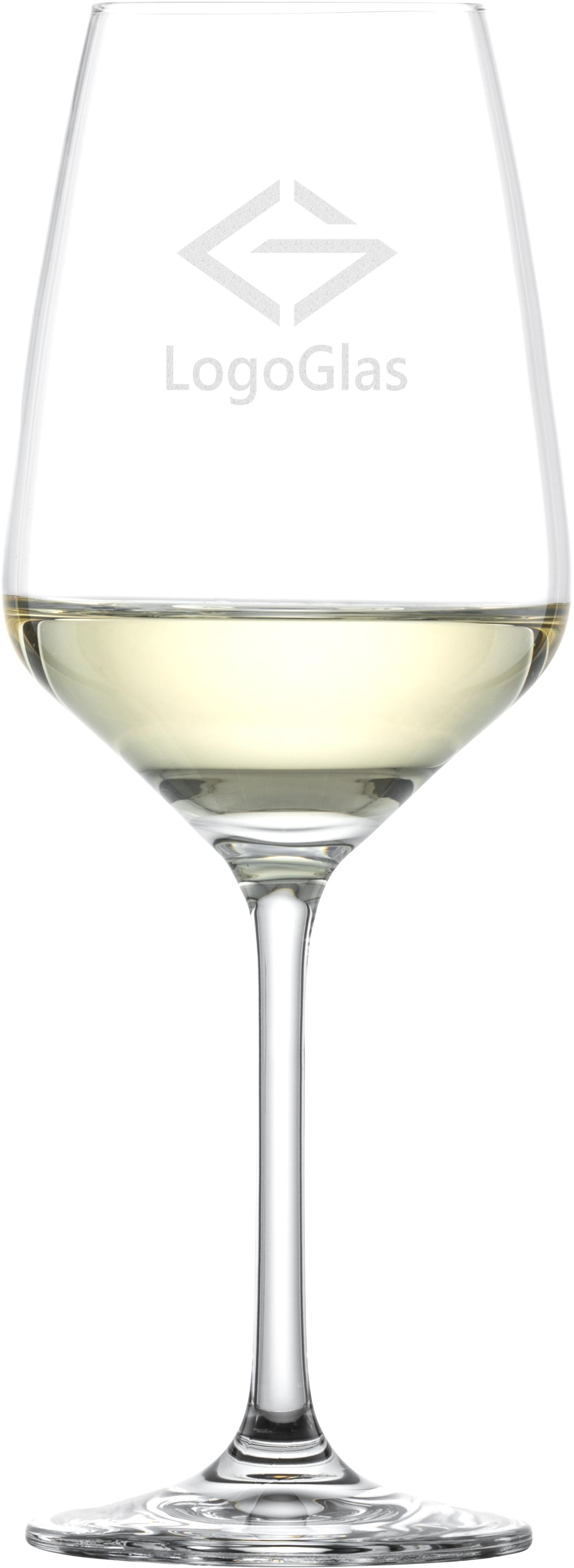 LOGO SCHOTT Weißweinglas TASTE 356ml | Weißweinkelch | mit Logo Gravur