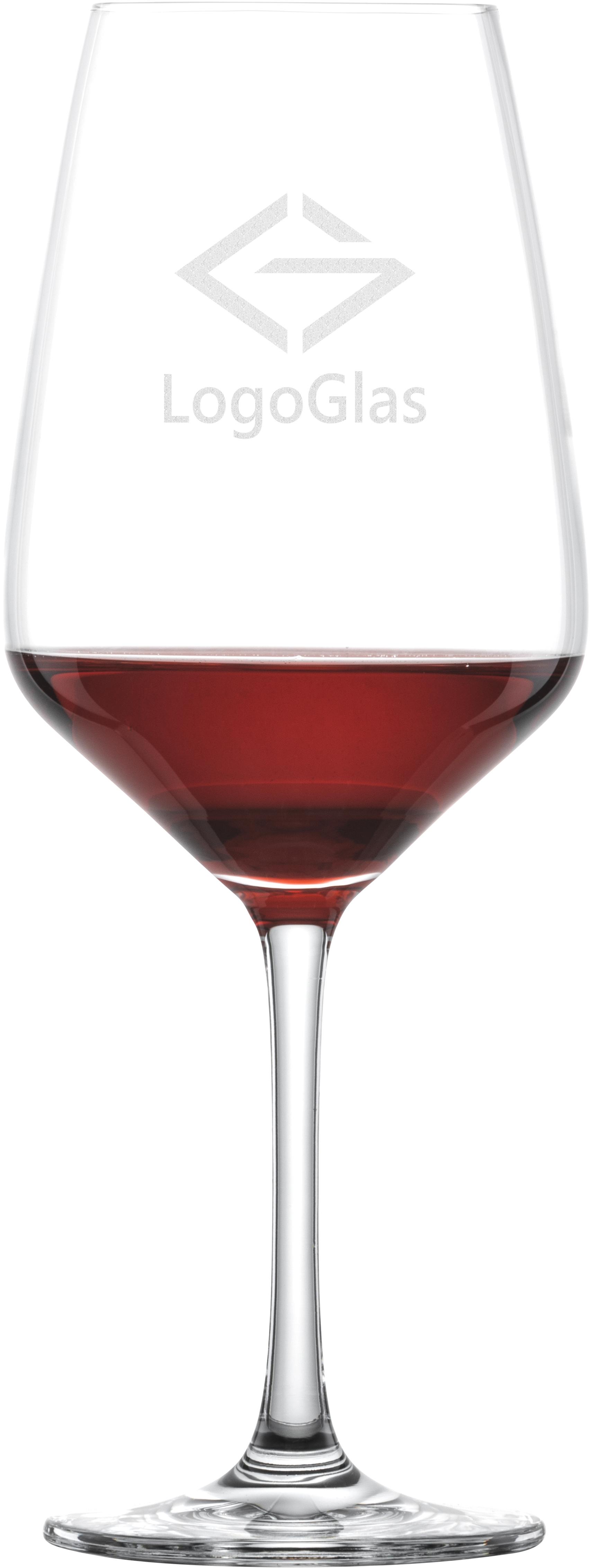 LOGO SCHOTT Rotweinglas TASTE 497ml | Rotweinkelch | mit Logo