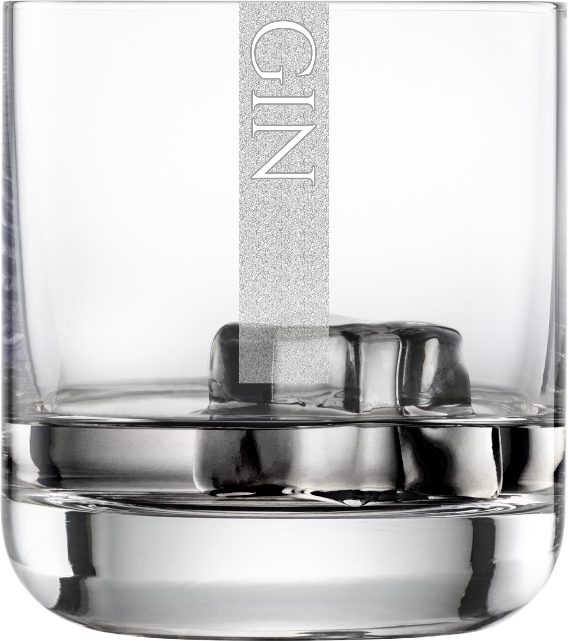 GIN Gläser | 6 Stück 300ml Schott Tumblerglas | CoolGlas