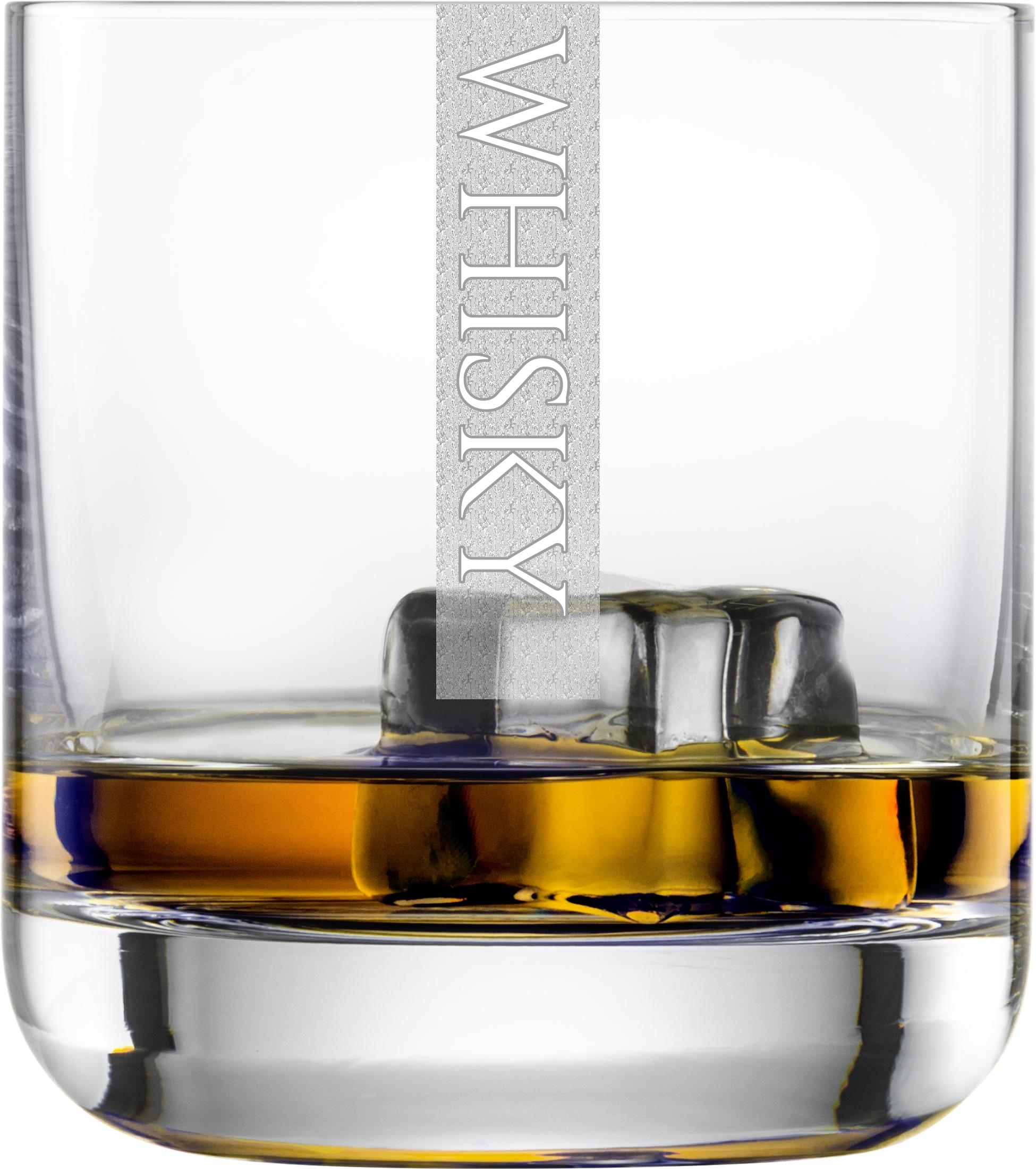 WHISKY Gläser | 6 Stück 300ml Schott Tumblerglas | CoolGlas