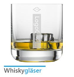 Whiskygläser mit Logo Gravur