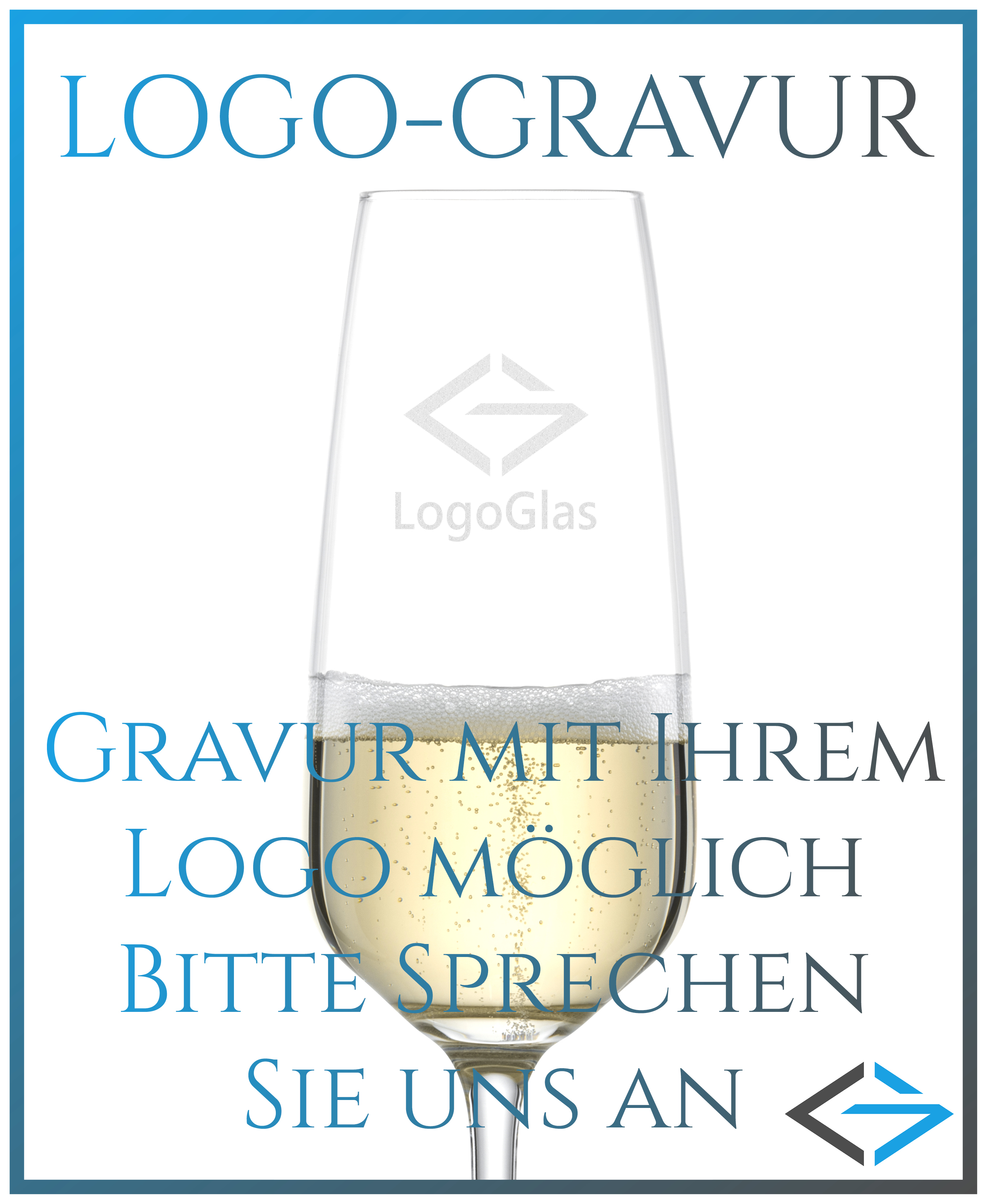 NAMEN Sektglas mit Wunschtext | 283ml Schott Taste Sektkelch | personalisierte Gravur