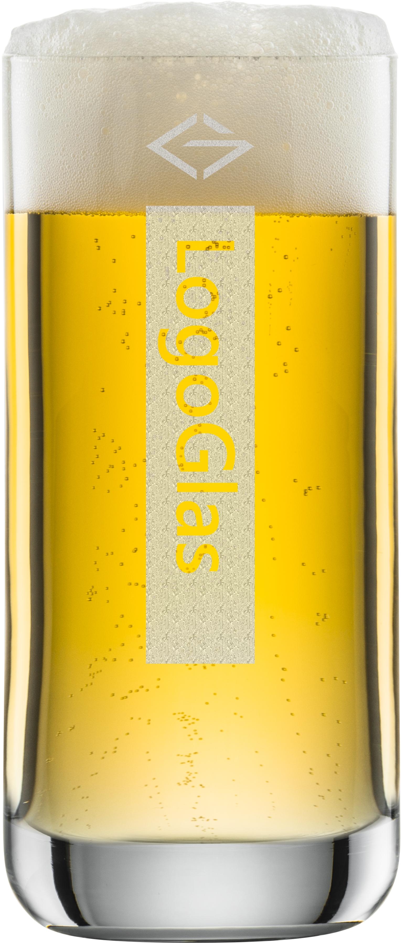 LOGO Bierglas 345ml | Schott Convention 42 |  mit Logo Gravur