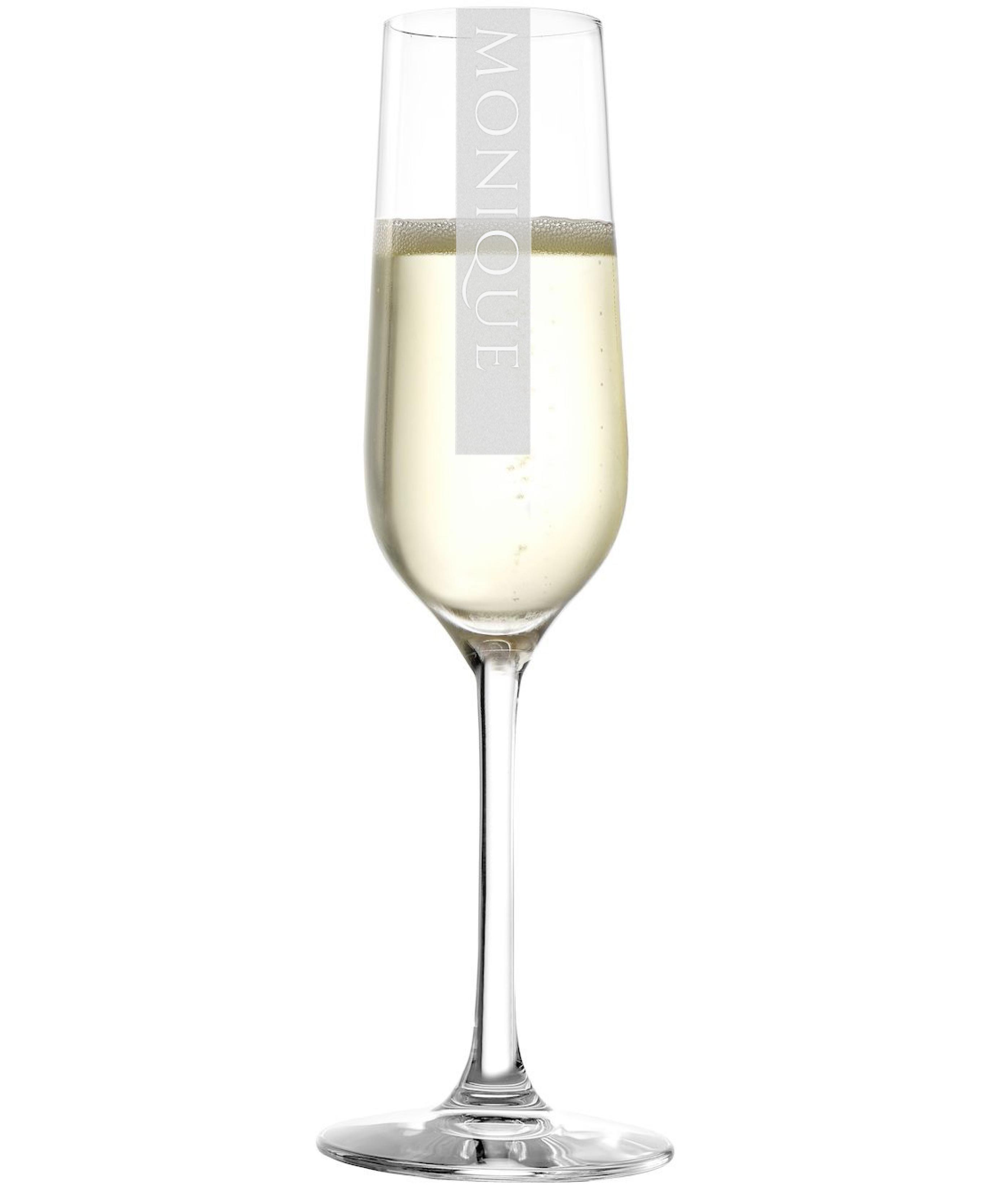NAMEN Sektglas mit Wunschtext | 200ml Stölzle Revolution Rotweinkelch | Gravur