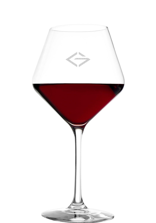 LOGO Stölzle Rotweinglas 365ml | Stölzle Revolution Rotweinkelch | mit Logo Gravur